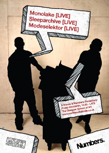 March 06: Modeselektor, Monolake & Sleeparchive @ Glasgow School Of Art