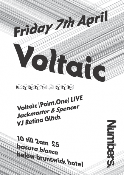 Fri 7th Apr 06: Voltaic Live @ Basura Blanca, Glasgow
