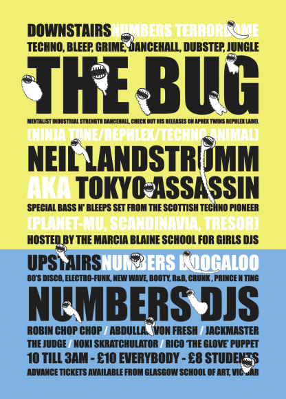 22nd Sep 06: Neil Landstrumm, The Bug @ Glasgow School Of Art