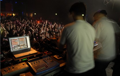 Fri 9 Apr 2010: Modeselektor + Numbers + Glasgow = RIOT @ ABC
