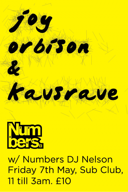 Fri 7 May 2010: Joy Orbison & Kavsrave @ Sub Club, Glasgow