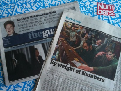 The Guardian x Numbers x Glasgow