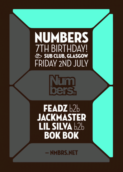 Fri 2 Jul 2010: Numbers 7th Birthday Pt. 1 @ Sub Club Glasgow