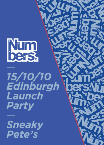 Fri 15 October 2010: Edinburgh Launch party w/ Jackmaster & Nelson