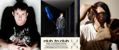 Sat 23 Oct: Numbers at Club To Club Festival in Milan